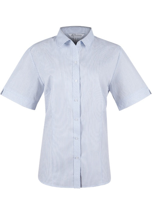 Aussie Pacific Lady Bayview Short Sleeve Shirt-(2906S)