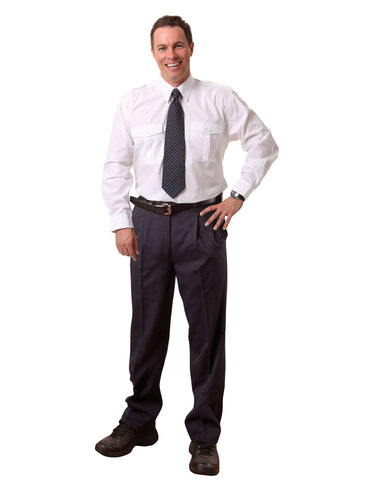 Winning Spirit Men's Regular Flexi Waist T/R Pant (WP19)