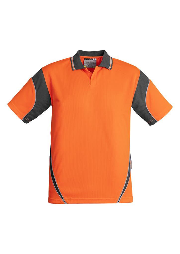 Syzmik Mens Hi Vis Aztec Polo - Short Sleeve (ZH248)