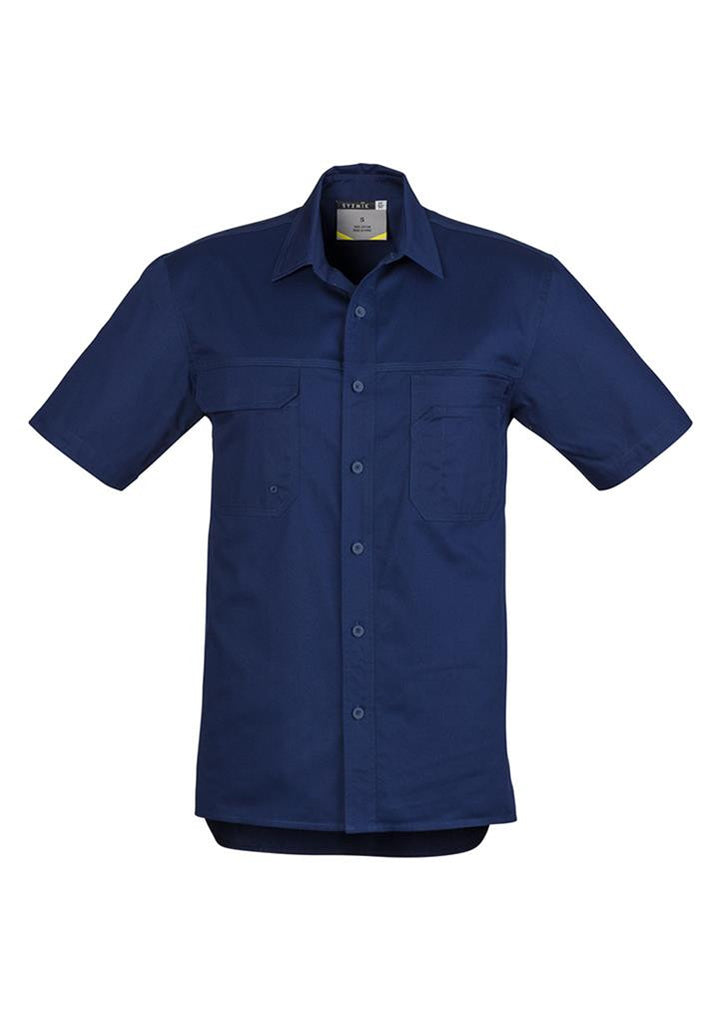 Syzmik ZW120 Light Weight Tradie Gents  Shirt - Short Sleeve