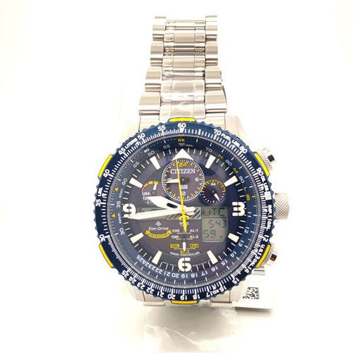 Citizen Promaster Skyhawk AT Eco-Drive Stainless Steel Blue Dial