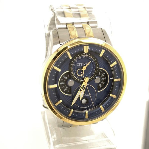 Citizen Calendrier Eco-Drive Two Tone Stainless Steel