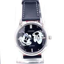 Citizen Mickey Mouse Eco-Drive Acero Inoxidable Esfera Negra