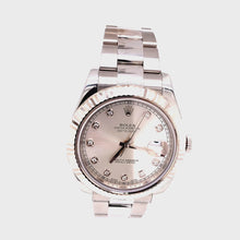 Rolex Datejust Diamond Dial Ref# 16334 12 LINK 97.7DWT COMES WITH BOX