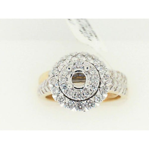 14K Gold Semi Mount Diamond Ring