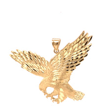 14K Yellow Gold Pendant with Eagle 25.20 Grams