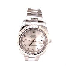 Rolex Datejust Diamond Dial Ref # 16334 12 LINK 97.7DWT COMES WITH BOX