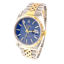 Rolex Datejust 36Mm 18K Two Tone 61.8Dwt 19 Links with Case Ref # 16233