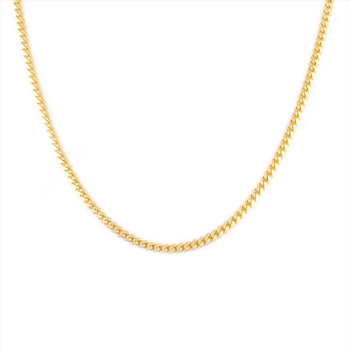 10K Yellow Gold Cuban Chain 5mm 24 Inches 42.92