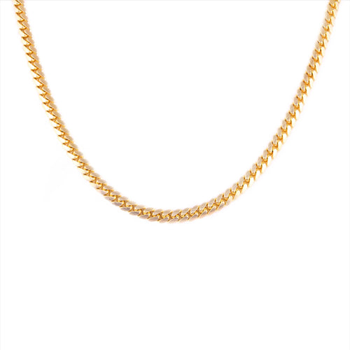 14K Yellow Gold Cuban Chain 7mm 26 Inches 92.89