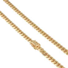 14K Yellow Gold Cuban Link Chain 6Mm 26In 47.2Dwt