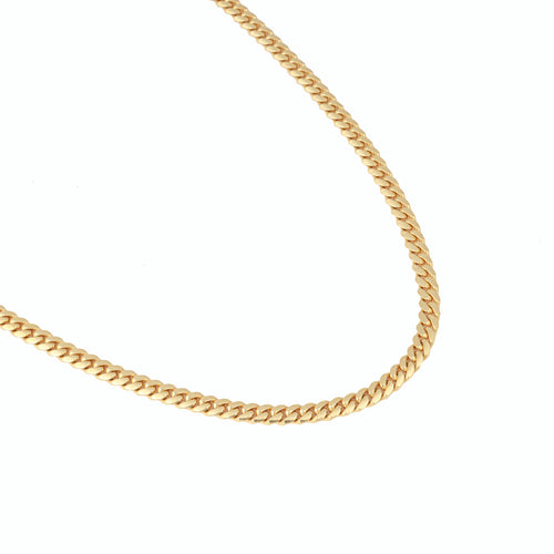 14K Yellow Gold Triple Clasp Cuban Link Chain 4Mm 26In 21.2dwt