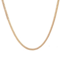10K Yellow Gold Triple Clasp Cuban Link Chain 7Mm 24In 53.0Dwt
