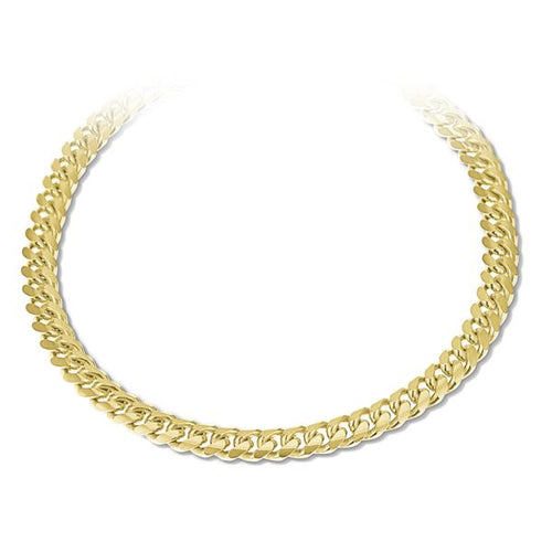 14K Yellow Gold Cuban Handle 8.5 Inches 5MM