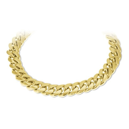 10K Yellow Gold Cuban Handle 10.5MM 9 Inches