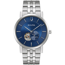 Bulova American Clipper 42MM Blue Dial Stainless Steel Model 96A247
