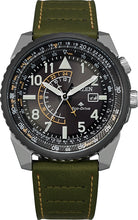 Citizen Man Watch 42MM Stainless Steel Leather Strap Model BJ7138-04E