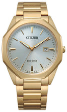 Citizen Corso Yellow Gold Watch Stainless Steel Sapphire Crystal 41MM Model BM7492-57A