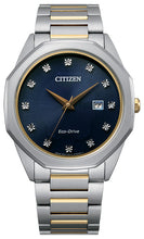 Citizen Corso Diamond with 12 Diamonds and Sapphire Crystal 41MM Model BM7494-51L