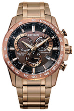 Citizen PCAT Rose Gold Stainless Steel Sapphire Crystal 43MM Model CB5896-54X