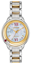 Citizen Snow White 7 Diamonds Sapphire Crystal Stainless Steel 33MM Model EW5564-54D