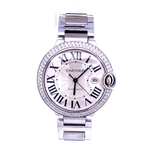 Cartier Balloon Women's Watch with Box 9 Links 94.7DWT Serial # 1794RX3001