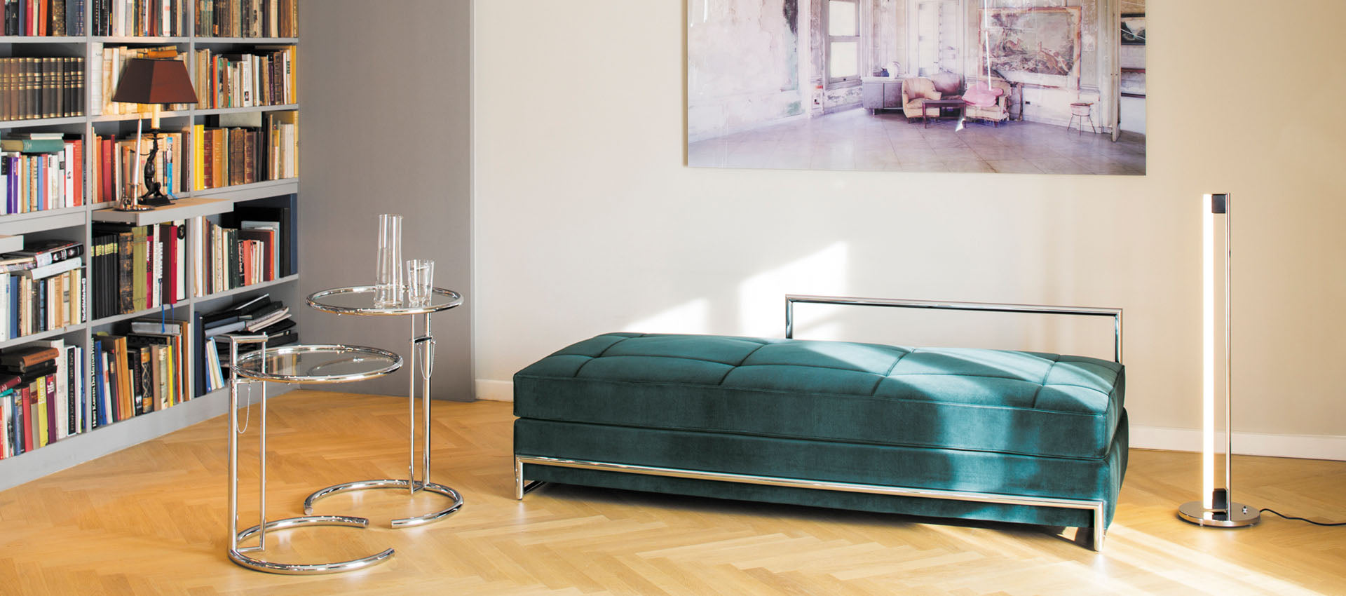 Day Bed by Eileen Gray