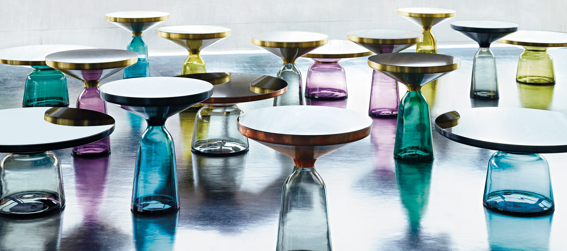Bell Table by Sebastian Herkner