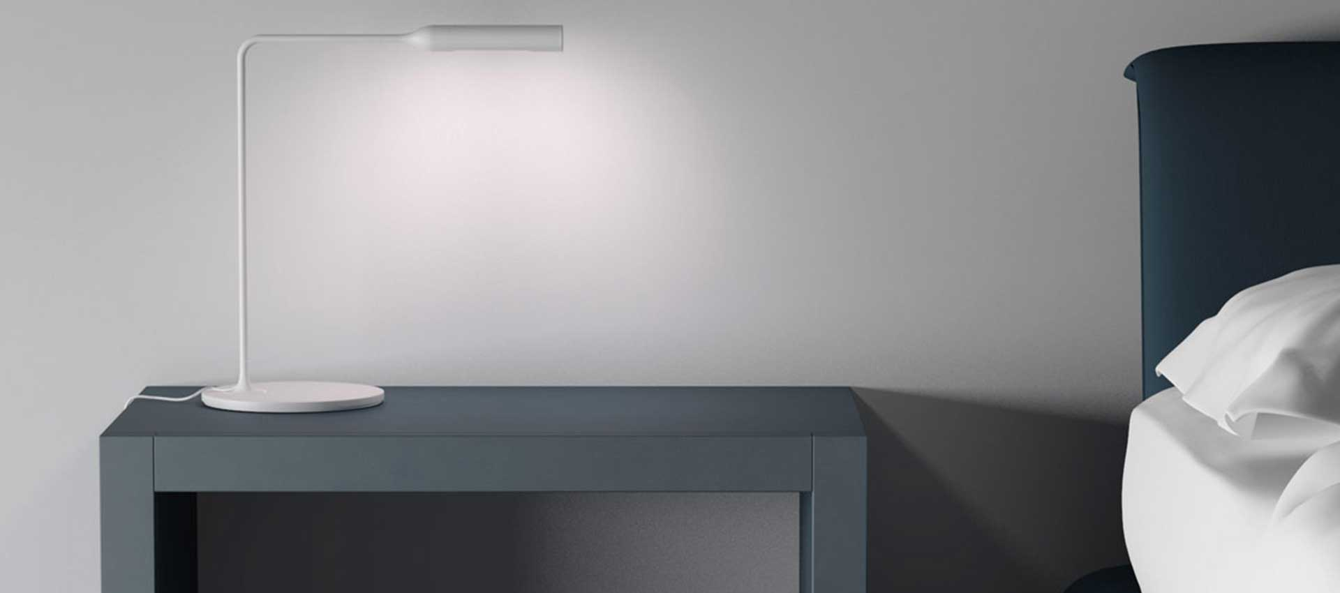 Flo desk lamp by Foster+Partners