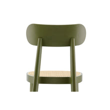 Load image into Gallery viewer, Chair 118 SP - Seat With Tacked on Flat Upholstery - Back View