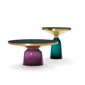 Coffee Table and Side Table, lacquer tops