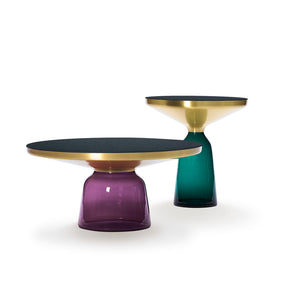 Coffee Table and Side Table lacquered tops