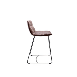 Arva Light Bar Stool - Side View