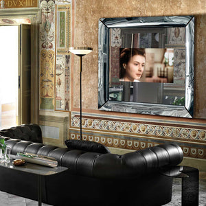 Caadre mirror with embedded LED TV