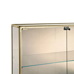 Echo Showcase - Bronze - Float Glass