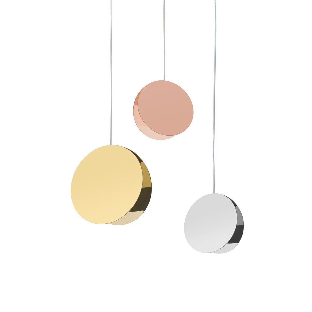 North - Pendant Light - Brass, Copper, Stainless Steel