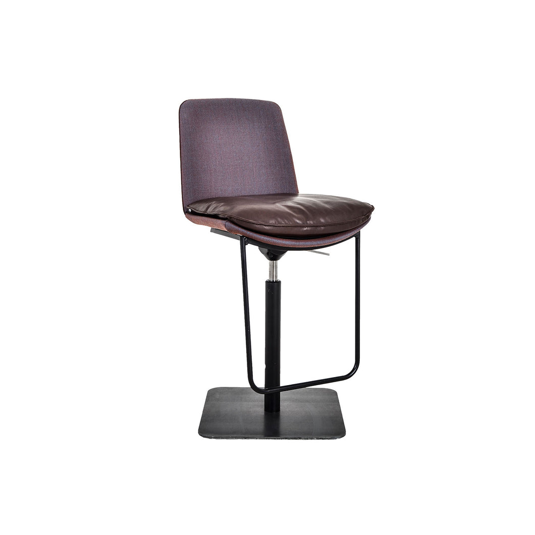 Lhasa Bar Stool - Height Adjustable - Back View