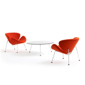Orange Slice Chairs and Table