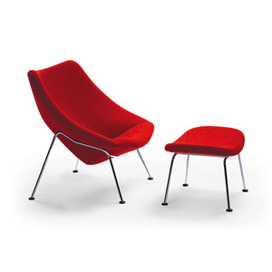 Oyster Lounge Chair and Otooman