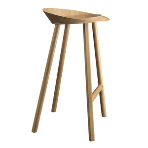 Jean Stool - Oak veneer, clear lacquered