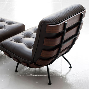 Costela Lounge Chair and Ottoman