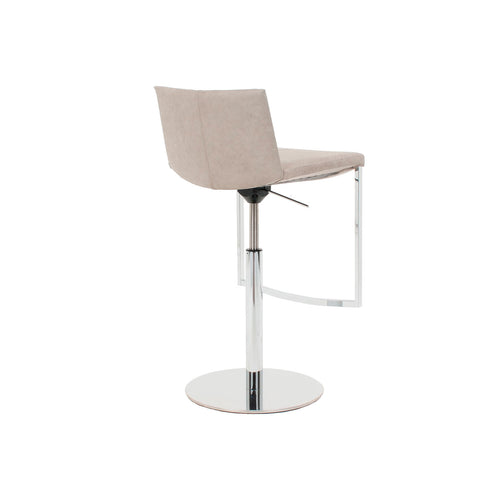 Tibet Bar Stool - Height Adjustable - Back View