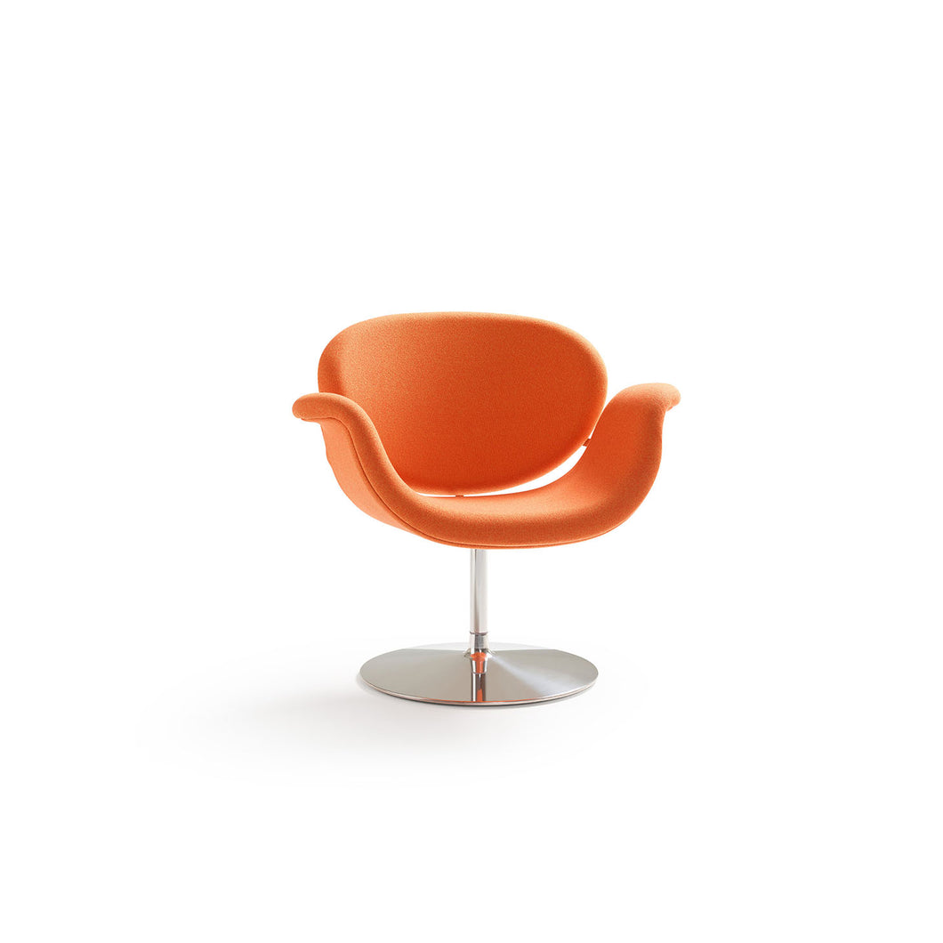 Tulip Midi Armchair - Orange - Disk Base