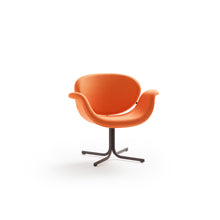 Load image into Gallery viewer, Tulip Midi Armchair - Orange - Cross Base