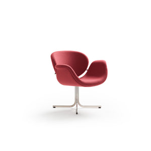 Tulip Midi Armchair - Violet - Cross Base