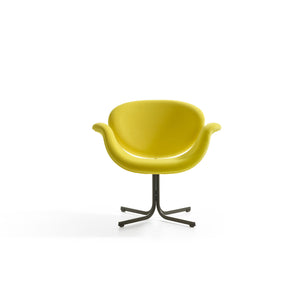 Tulip Midi Armchair - Yellow - Cross Base