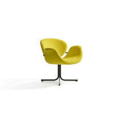 Load image into Gallery viewer, Tulip Midi Armchair - Yellow - Cross Base
