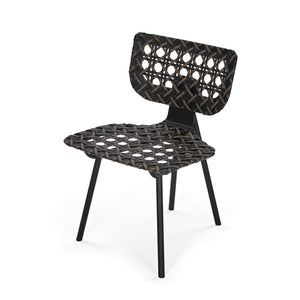 Aerias Chair - Black - Black Taupe