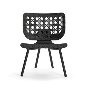 Aerias Lounge Chair - Black