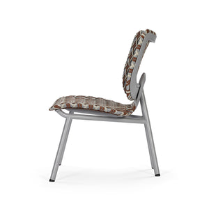 Aerias Lounge Chair - Grey - Cognac  - Coco
